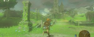 New Zelda: Breath of the Wild Art Celebrates Christmas