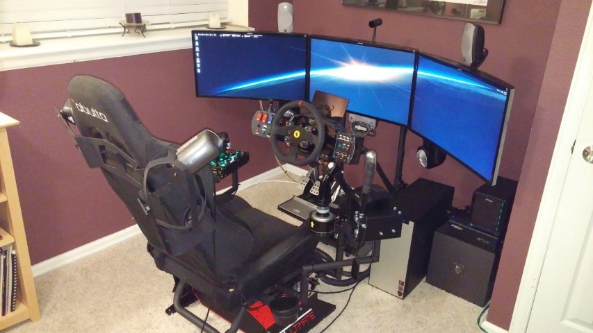 The $14K Elite: Dangerous Immersive Rig (And How To Build It
