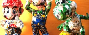 Amazing Video Game Characters Made From Cans